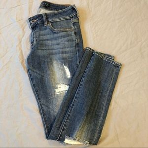 Lucky Brand Lolita Skinny Distressed Jeans Size 26
